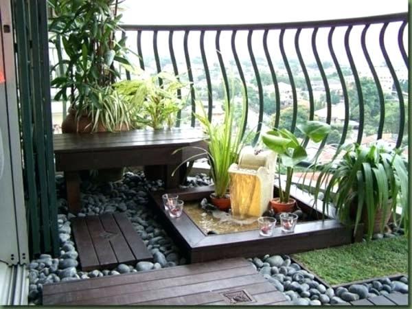 Small Porch Garden Balcony